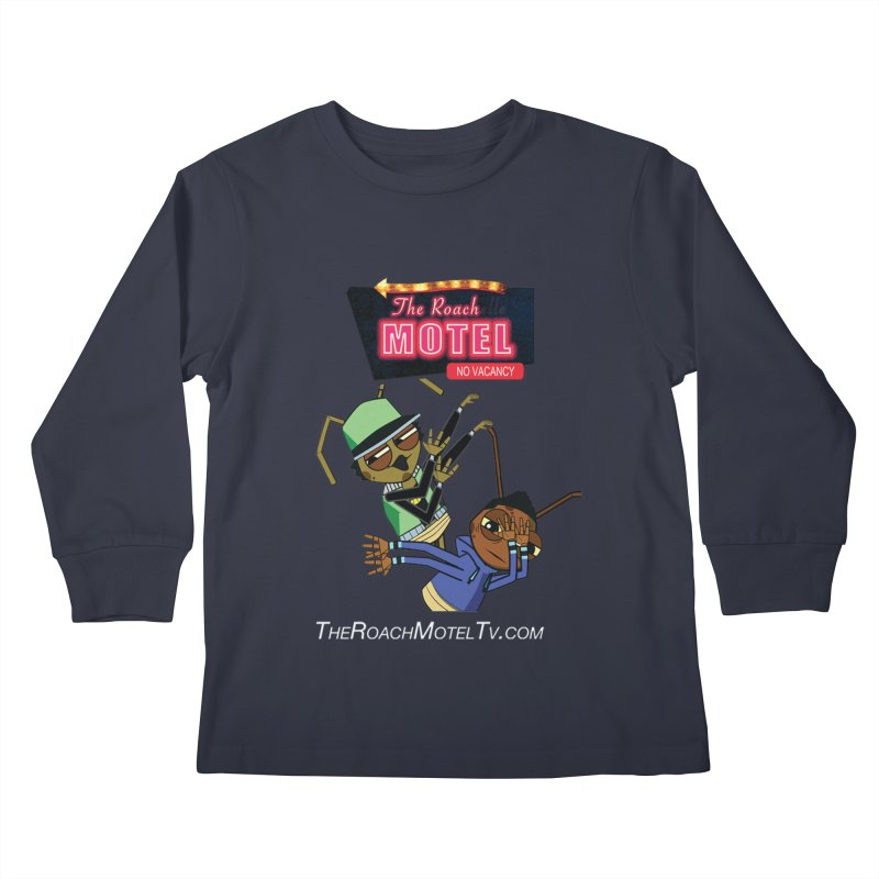 Roach DAB (Color) Kids Longsleeve T-Shirt by The Roach Motel's Artist Shop