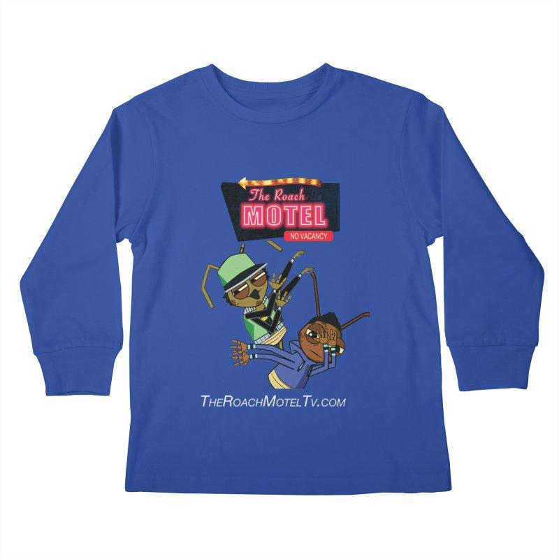Roach DAB (Color) Kids Longsleeve T-Shirt by The Roach Motel's Artist Shop