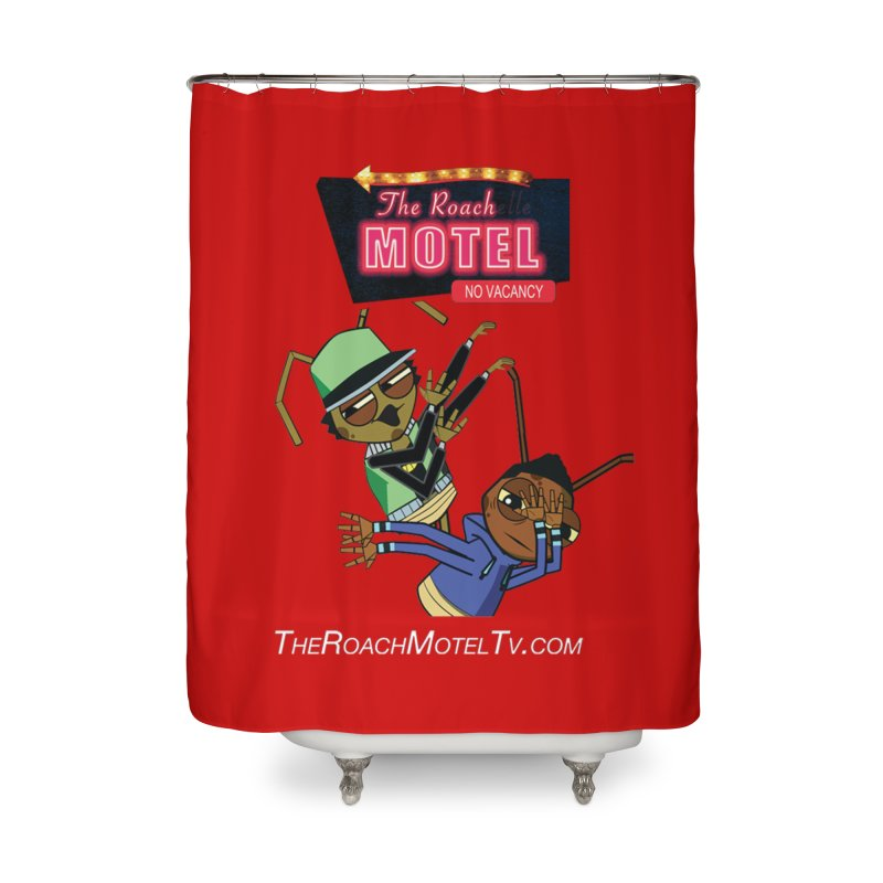 Roach DAB (Color) Home Shower Curtain by The Roach Motel's Artist Shop