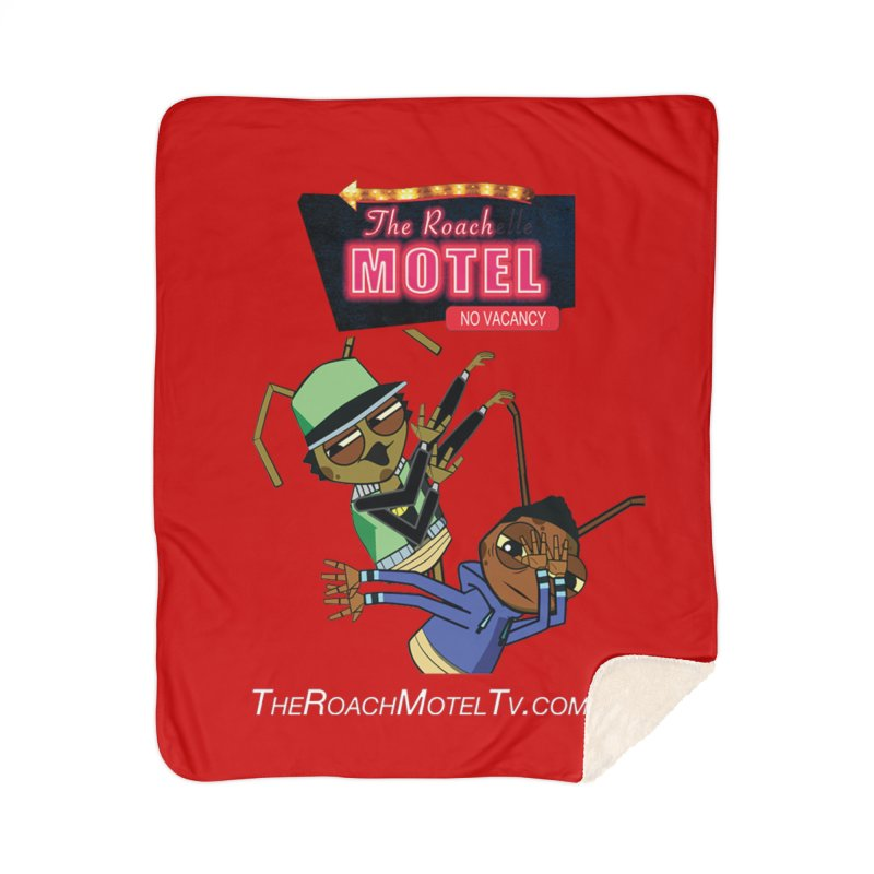 Roach DAB (Color) Home Sherpa Blanket Blanket by The Roach Motel's Artist Shop