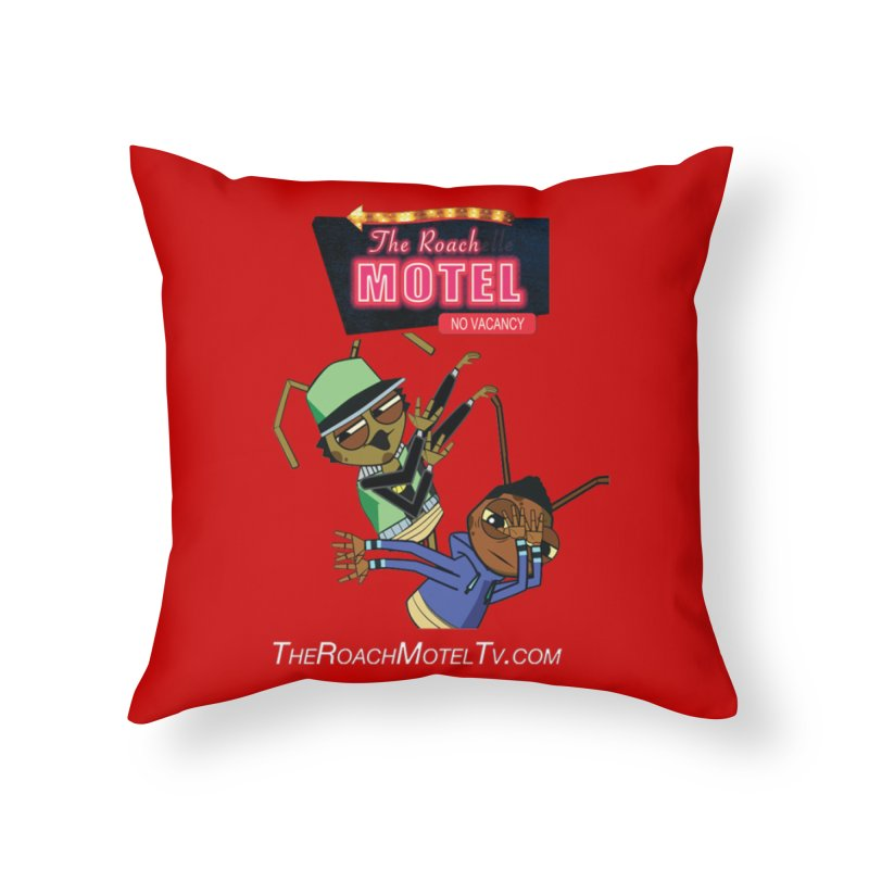 Roach DAB (Color) Home Throw Pillow by The Roach Motel's Artist Shop