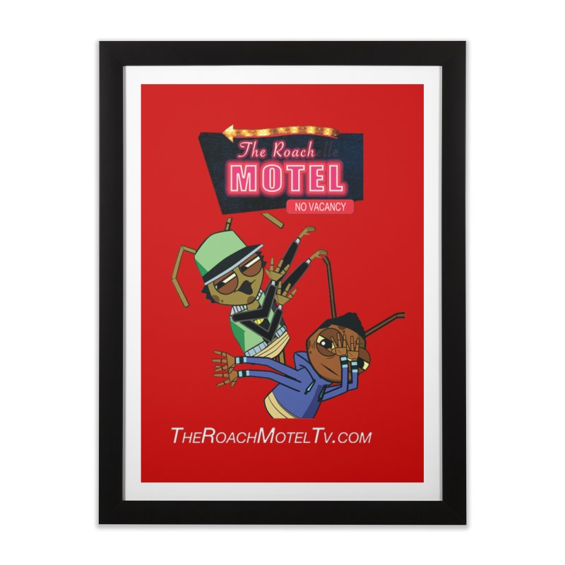 Roach DAB (Color) Home Framed Fine Art Print by The Roach Motel's Artist Shop
