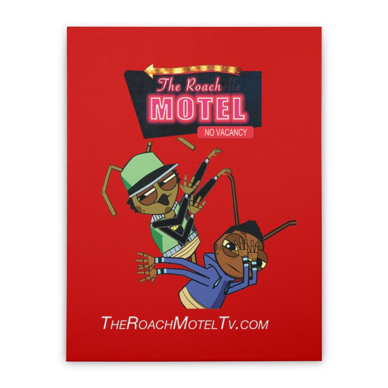 Roach DAB (Color) Home Stretched Canvas by The Roach Motel's Artist Shop