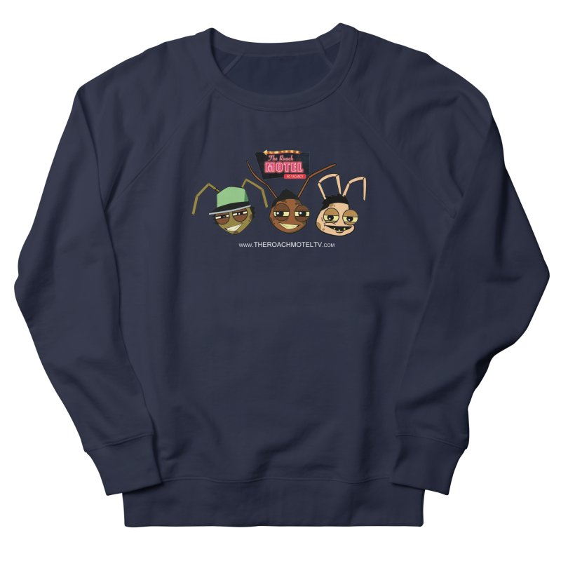 Heads (Color) Men's French Terry Sweatshirt by The Roach Motel's Artist Shop