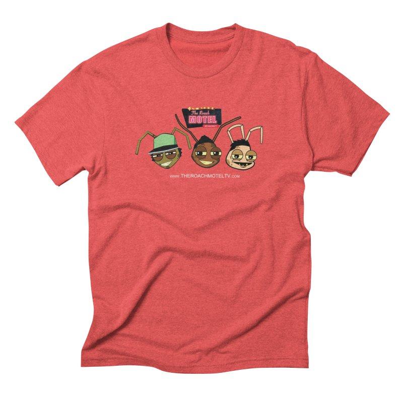 Heads (Color) Men's Triblend T-Shirt by The Roach Motel's Artist Shop