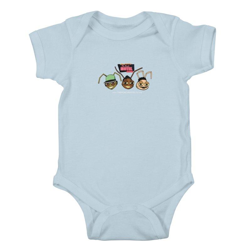 Heads (Color) Kids Baby Bodysuit by The Roach Motel's Artist Shop