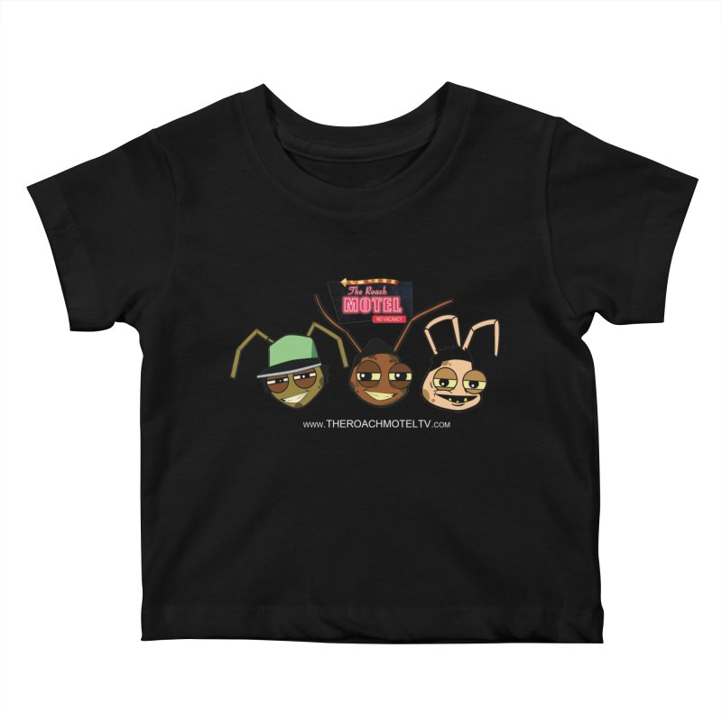 Heads (Color) Kids Baby T-Shirt by The Roach Motel's Artist Shop