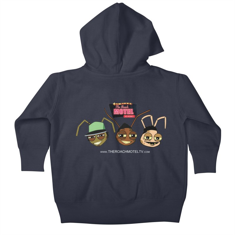 Heads (Color) Kids Baby Zip-Up Hoody by The Roach Motel's Artist Shop