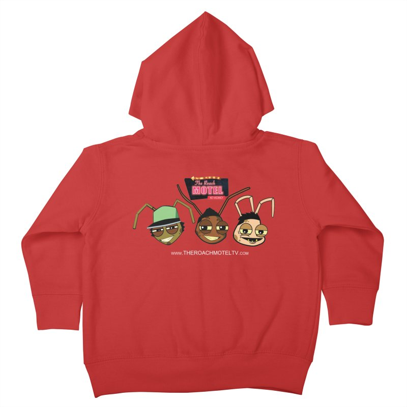 Heads (Color) Kids Toddler Zip-Up Hoody by The Roach Motel's Artist Shop