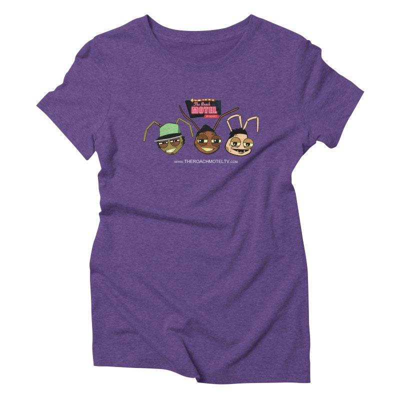 Heads (Color) Women's Triblend T-Shirt by The Roach Motel's Artist Shop