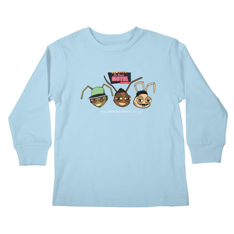 Heads (Color) Kids Longsleeve T-Shirt by The Roach Motel's Artist Shop
