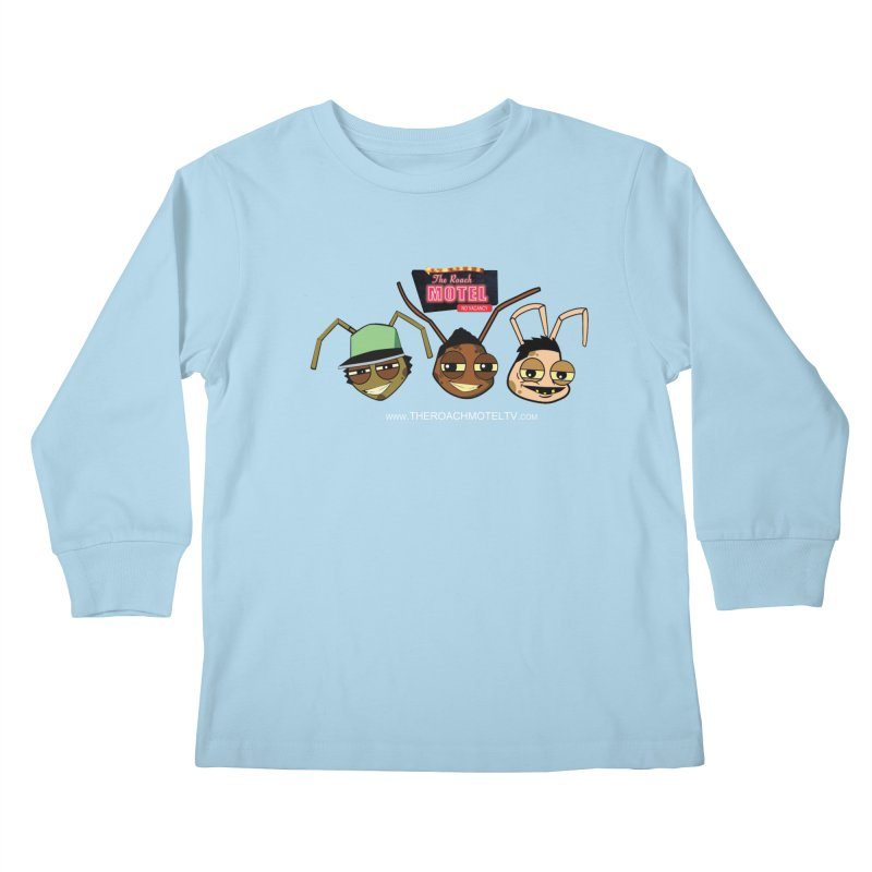 Heads (Color) Kids Longsleeve T-Shirt by The Roach Motel's Artist Shop