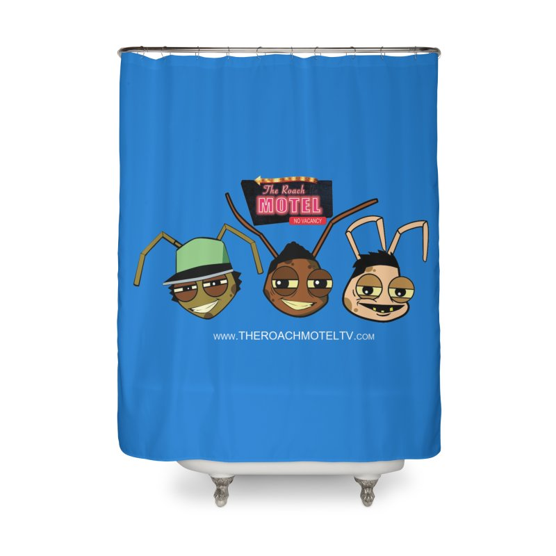 Heads (Color) Home Shower Curtain by The Roach Motel's Artist Shop