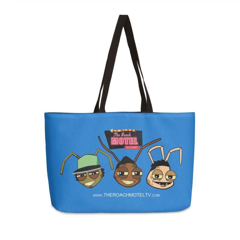 Heads (Color) Accessories Weekender Bag Bag by The Roach Motel's Artist Shop