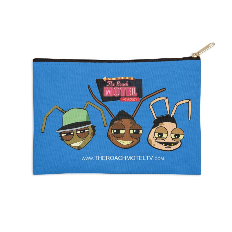 Heads (Color) Accessories Zip Pouch by The Roach Motel's Artist Shop