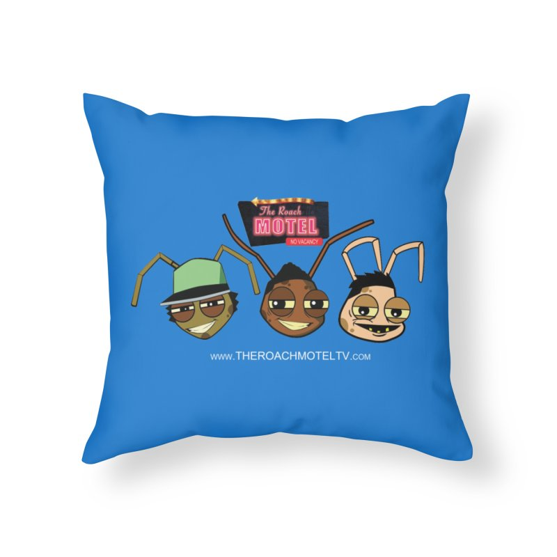 Heads (Color) Home Throw Pillow by The Roach Motel's Artist Shop