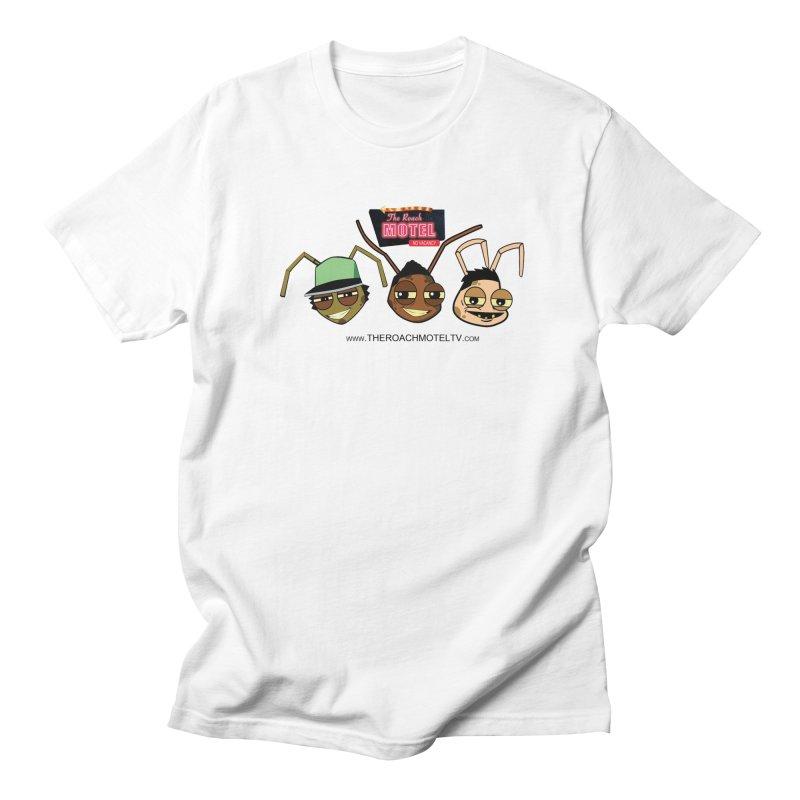 Heads (White) Men's Regular T-Shirt by The Roach Motel's Artist Shop