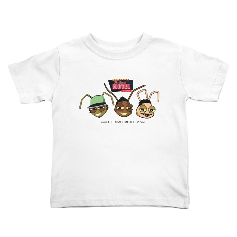 Heads (White) Kids Toddler T-Shirt by The Roach Motel's Artist Shop