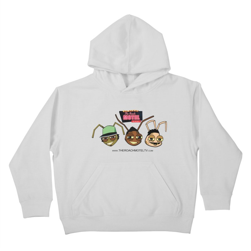 Heads (White) Kids Pullover Hoody by The Roach Motel's Artist Shop