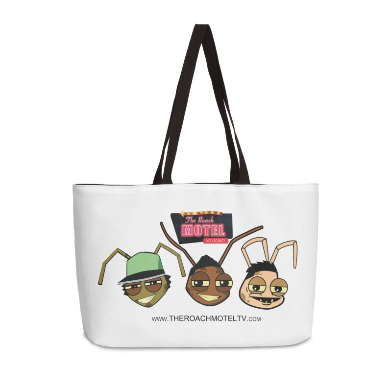 Heads (White) Accessories Weekender Bag Bag by The Roach Motel's Artist Shop