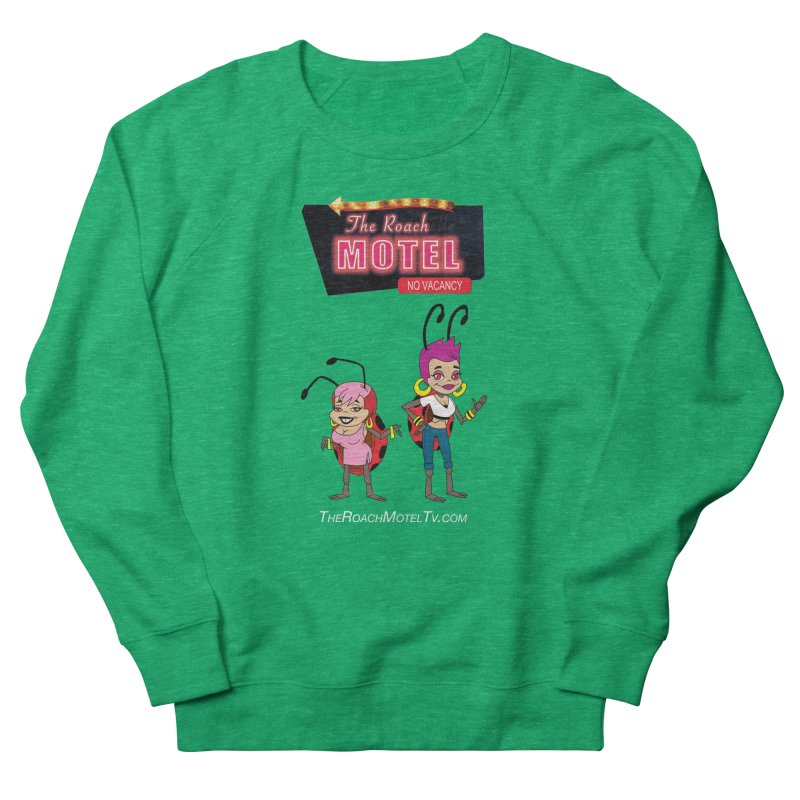 Ladybug (Color) Women's French Terry Sweatshirt by The Roach Motel's Artist Shop