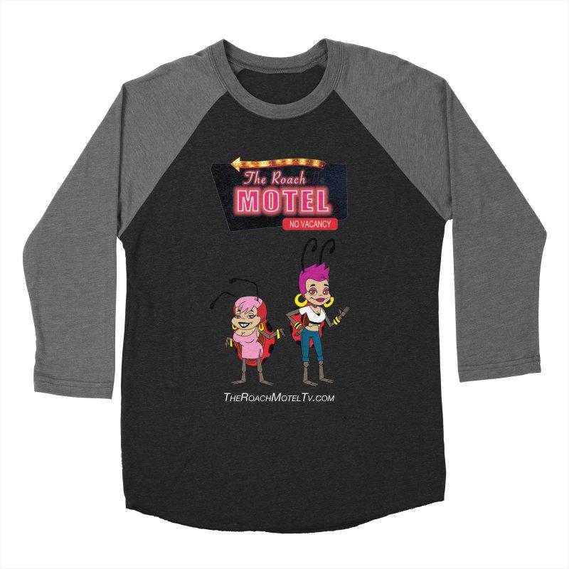 Ladybug (Color) Women's Baseball Triblend Longsleeve T-Shirt by The Roach Motel's Artist Shop