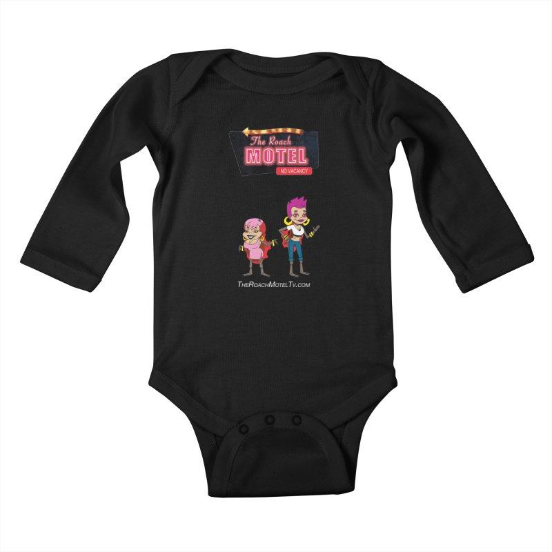 Ladybug (Color) Kids Baby Longsleeve Bodysuit by The Roach Motel's Artist Shop