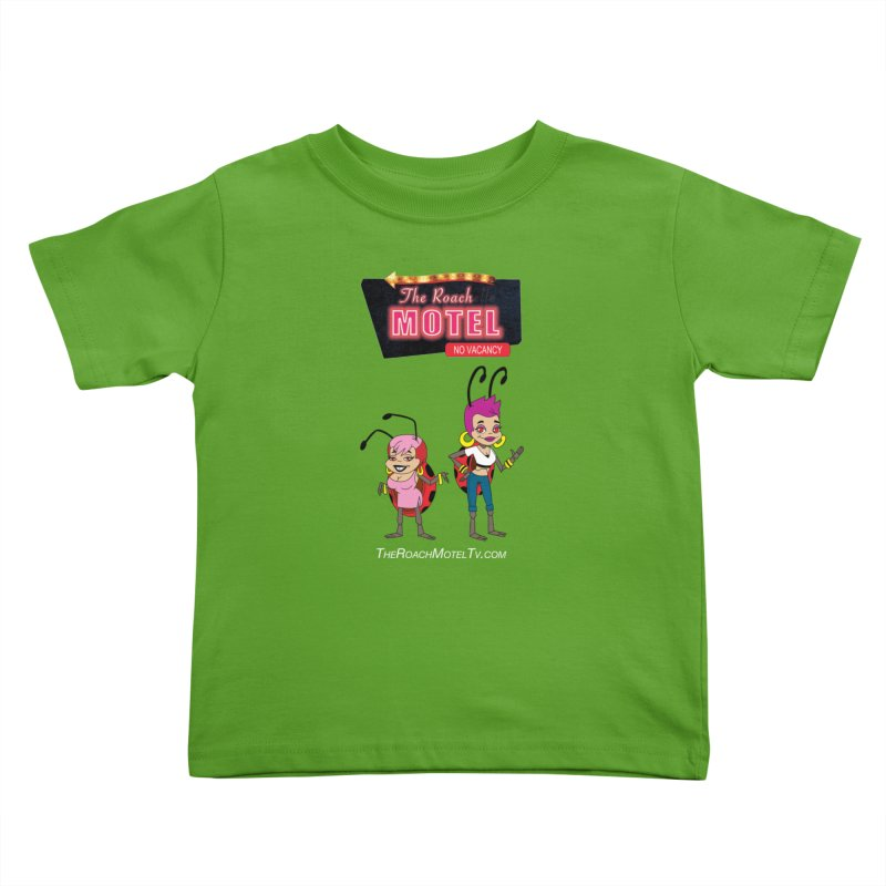 Ladybug (Color) Kids Toddler T-Shirt by The Roach Motel's Artist Shop