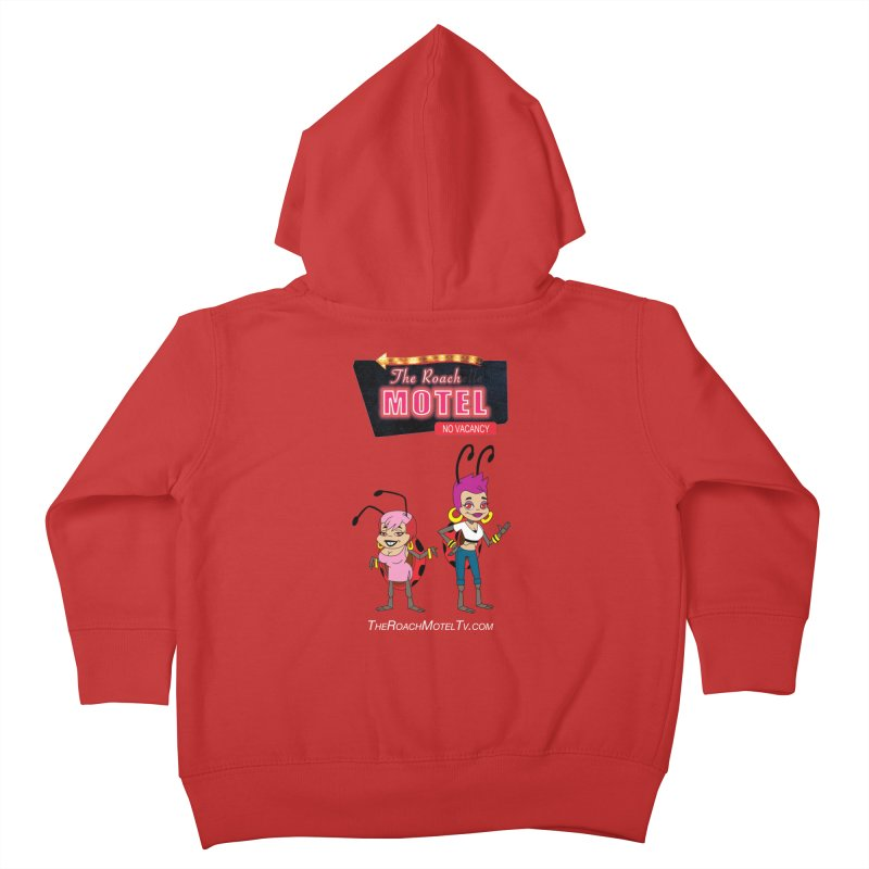 Ladybug (Color) Kids Toddler Zip-Up Hoody by The Roach Motel's Artist Shop