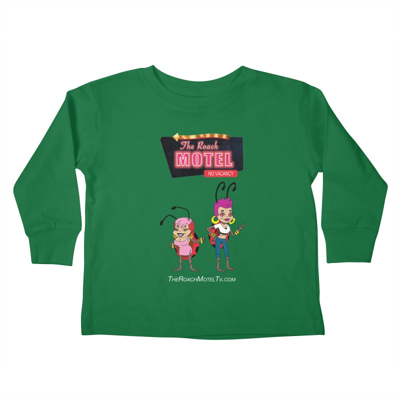 Ladybug (Color) Kids Toddler Longsleeve T-Shirt by The Roach Motel's Artist Shop