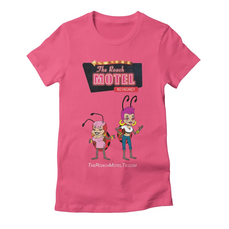 Ladybug (Color) Women's Fitted T-Shirt by The Roach Motel's Artist Shop