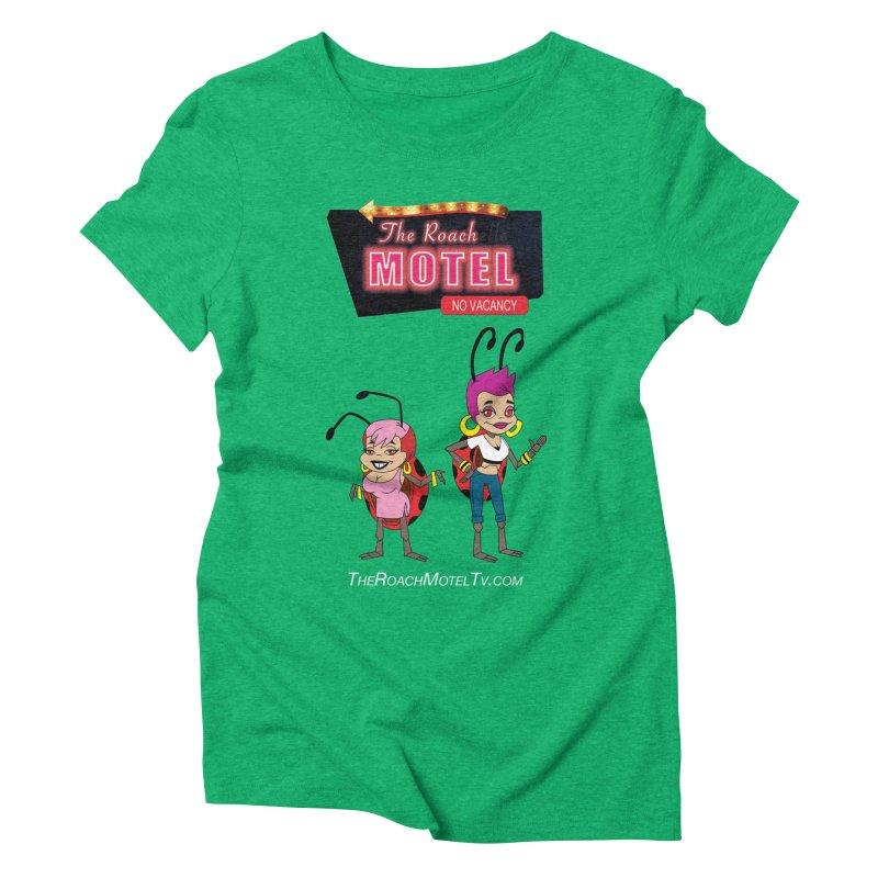 Ladybug (Color) Women's Triblend T-Shirt by The Roach Motel's Artist Shop