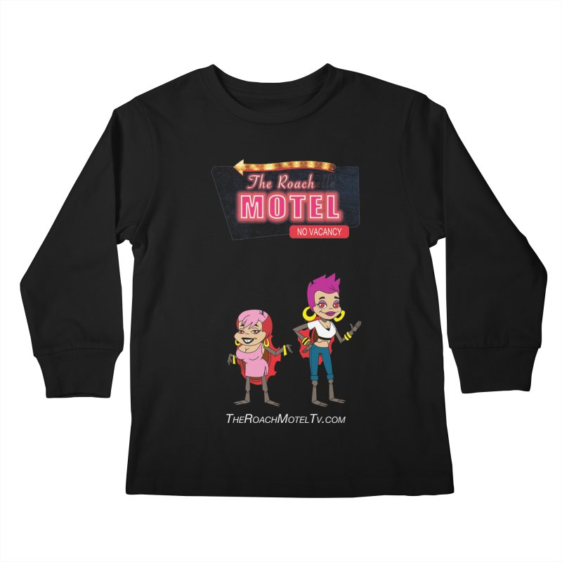 Ladybug (Color) Kids Longsleeve T-Shirt by The Roach Motel's Artist Shop