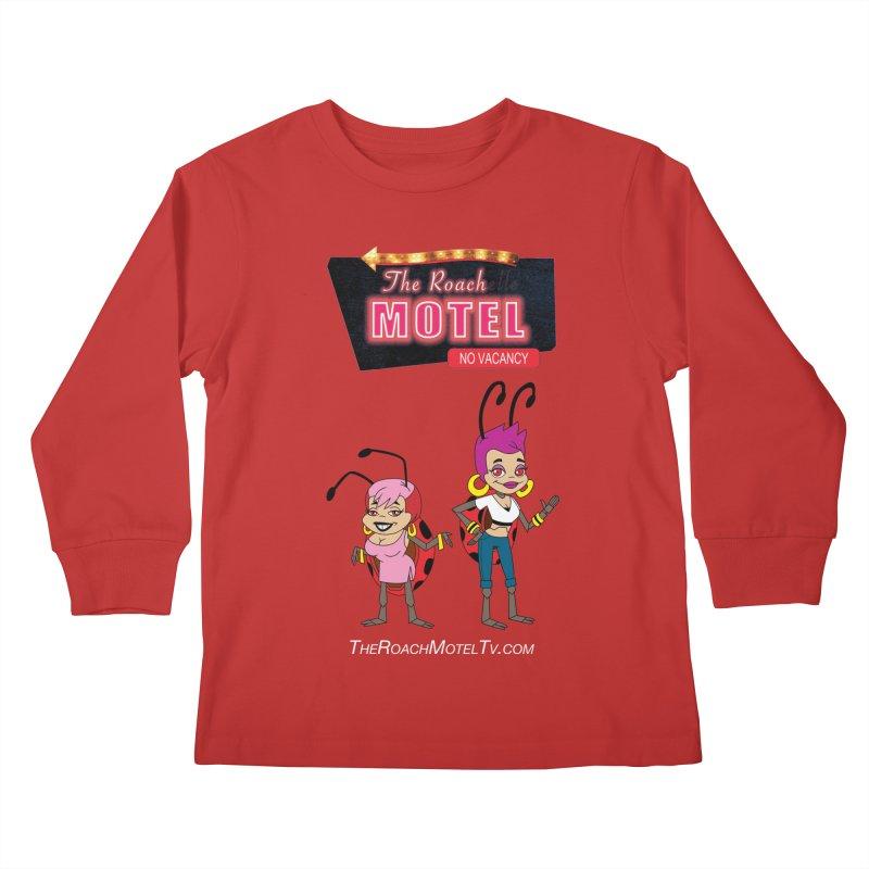 Ladybug (Color) Kids Longsleeve T-Shirt by The Roach Motel's Artist Shop