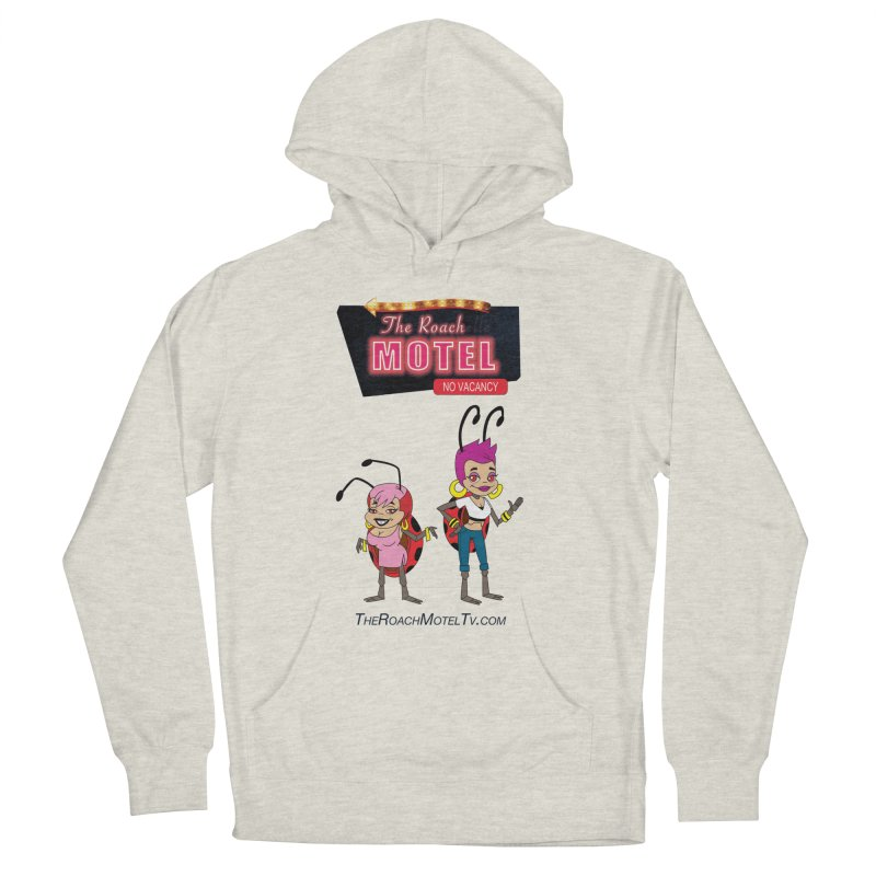 Ladybug (White) Women's French Terry Pullover Hoody by The Roach Motel's Artist Shop