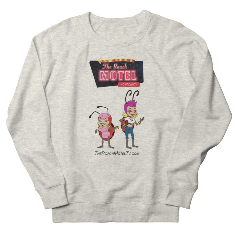 Ladybug (White) Women's French Terry Sweatshirt by The Roach Motel's Artist Shop