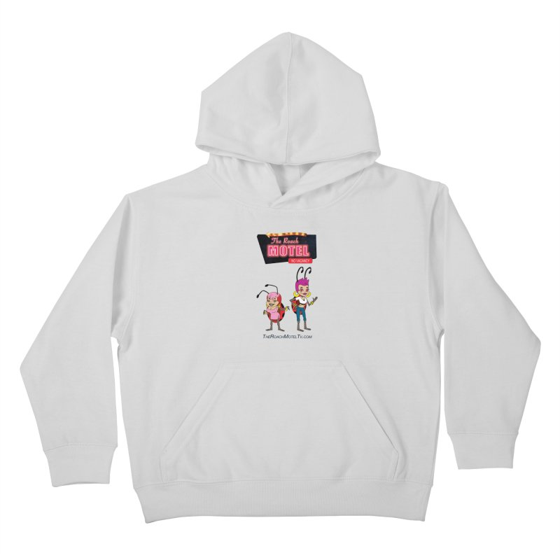 Ladybug (White) Kids Pullover Hoody by The Roach Motel's Artist Shop