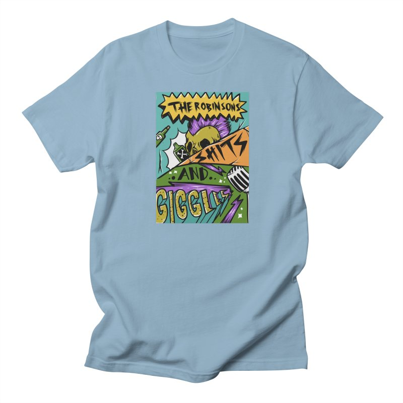 Shits and Giggles Tee Men's Regular T-Shirt by The Robinsons' Merch Store