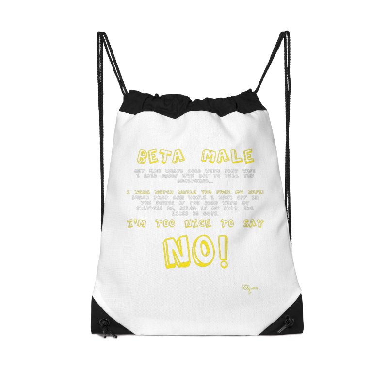 I'm A Beta Male Accessories Bag by The Robinsons' Merch Store