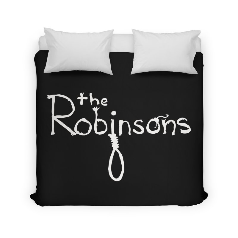 The Robinsons White Logo Home Duvet by The Robinsons' Merch Store