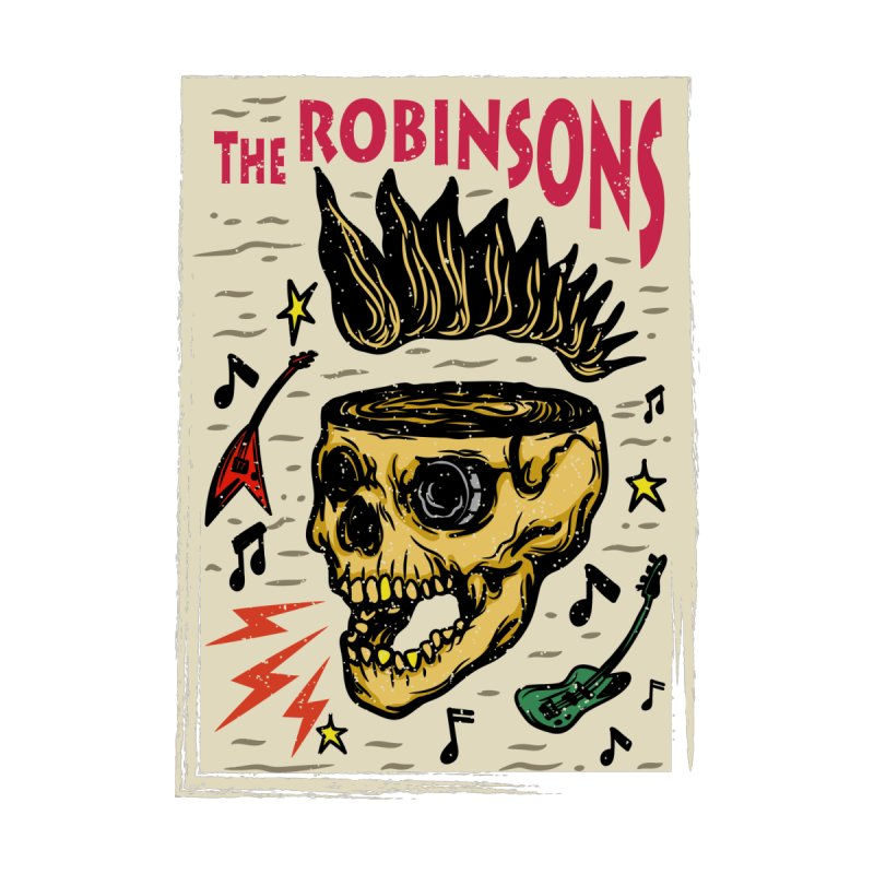 Skull Poster by The Robinsons' Merch Store