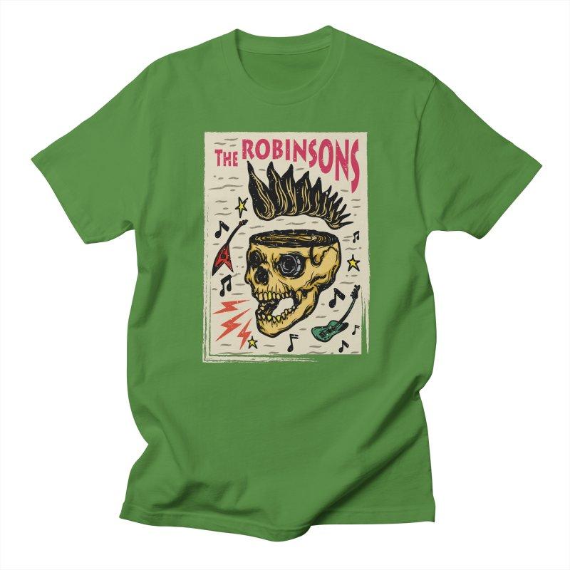 Skull Poster Men's Regular T-Shirt by The Robinsons' Merch Store