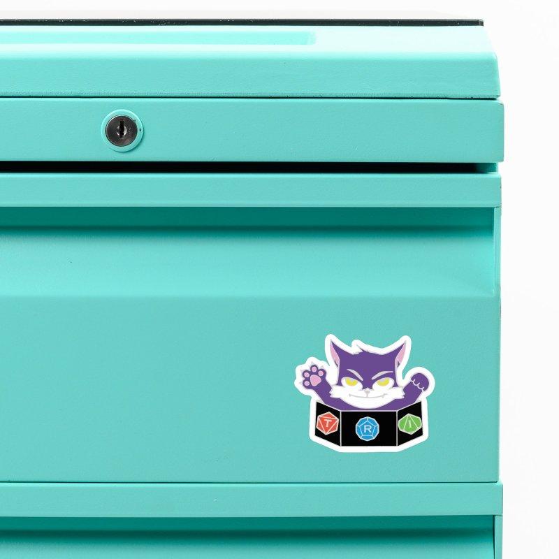 TRI Cat Accessories Magnet by The Role Initiative's Artist Shop