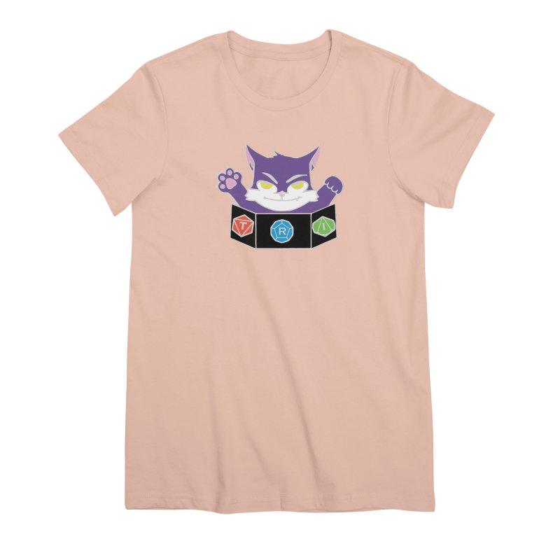 TRI Cat Women's Premium T-Shirt by The Role Initiative's Artist Shop