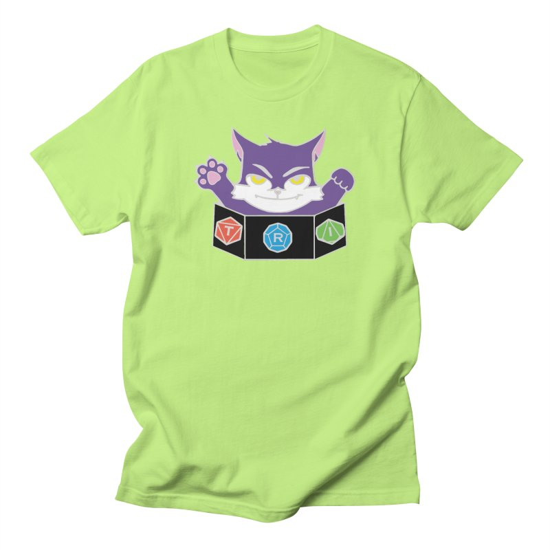 TRI Cat Men's T-Shirt by The Role Initiative's Artist Shop