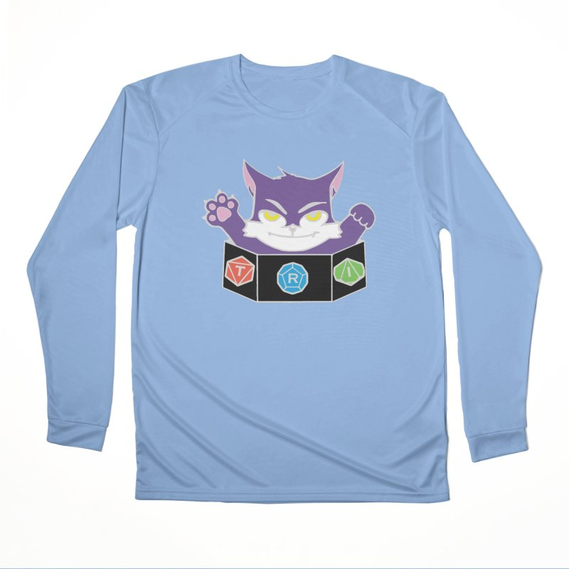 TRI Cat Men's Performance Longsleeve T-Shirt by The Role Initiative's Artist Shop