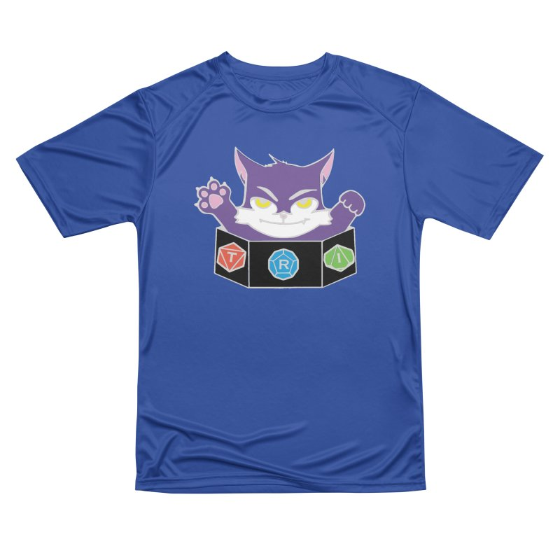 TRI Cat Men's Performance T-Shirt by The Role Initiative's Artist Shop