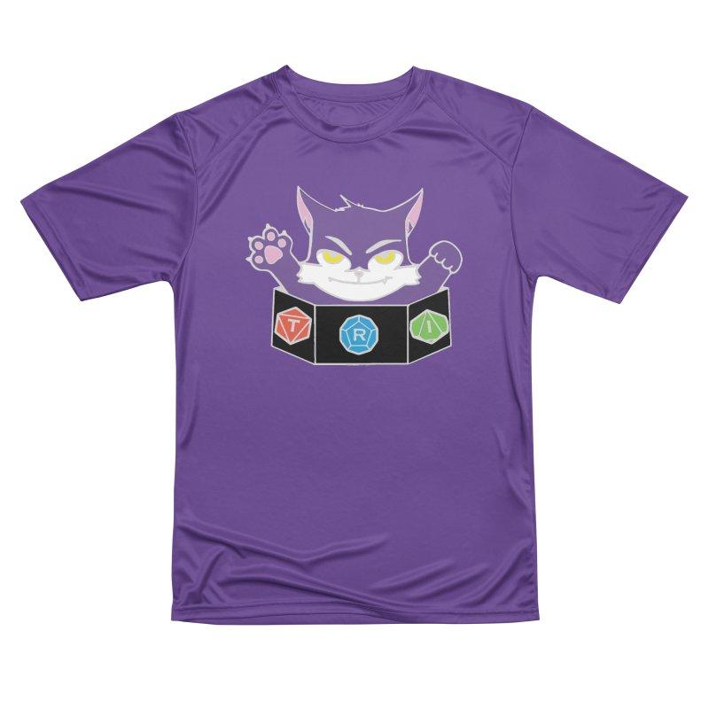 TRI Cat Women's Performance Unisex T-Shirt by The Role Initiative's Artist Shop