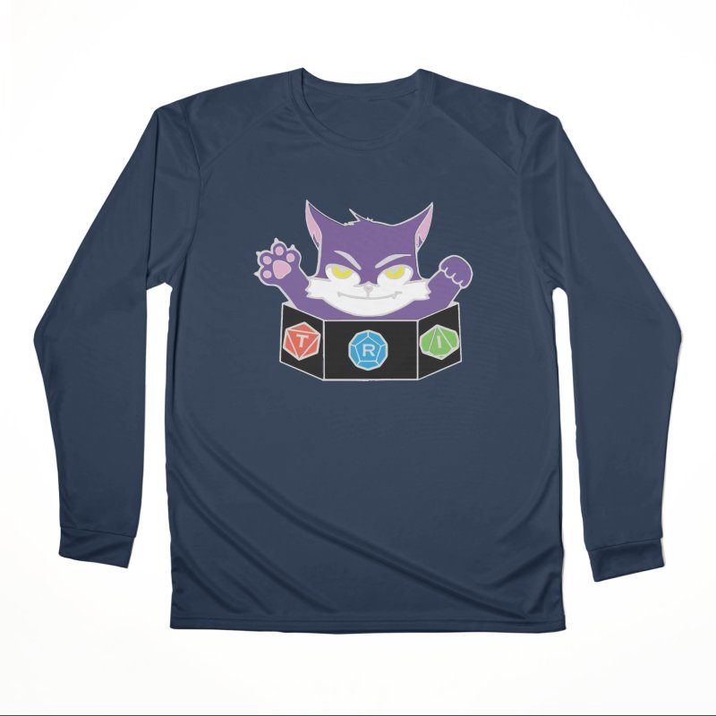 TRI Cat Women's Performance Unisex Longsleeve T-Shirt by The Role Initiative's Artist Shop