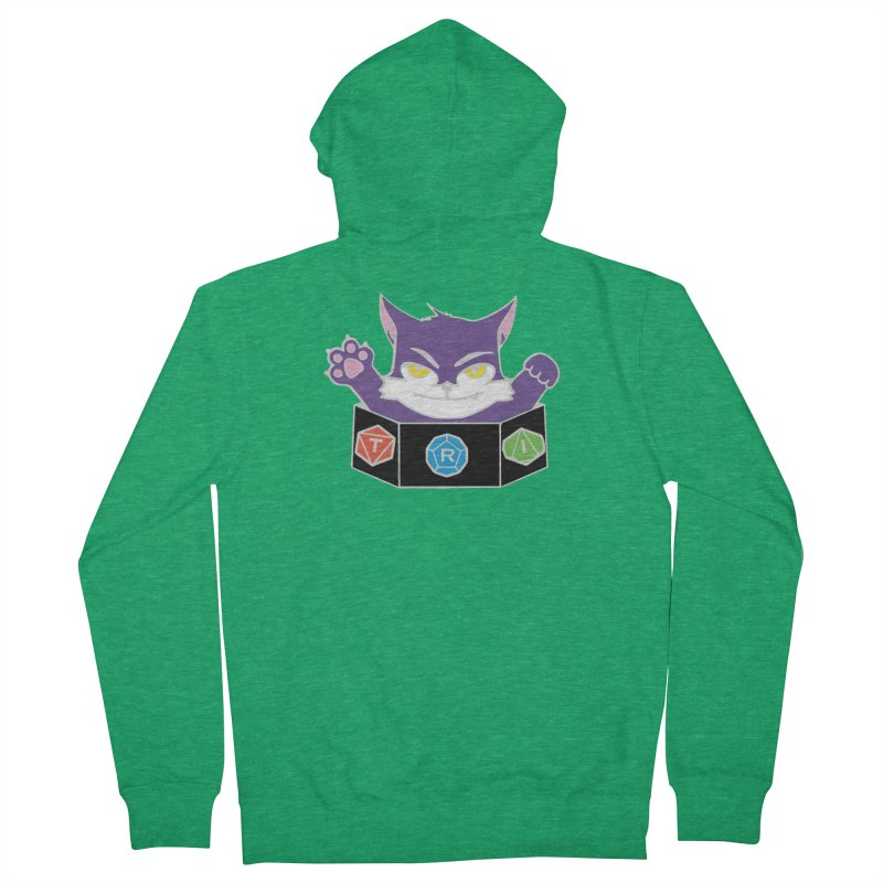 TRI Cat Women's Zip-Up Hoody by The Role Initiative's Artist Shop